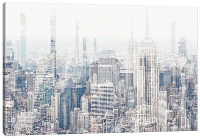 Urban Abstraction - New York Canvas Art Print