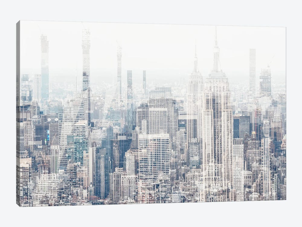 Urban Abstraction - New York by Philippe Hugonnard 1-piece Canvas Print