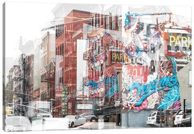 Urban Abstraction - Dreams Canvas Art Print