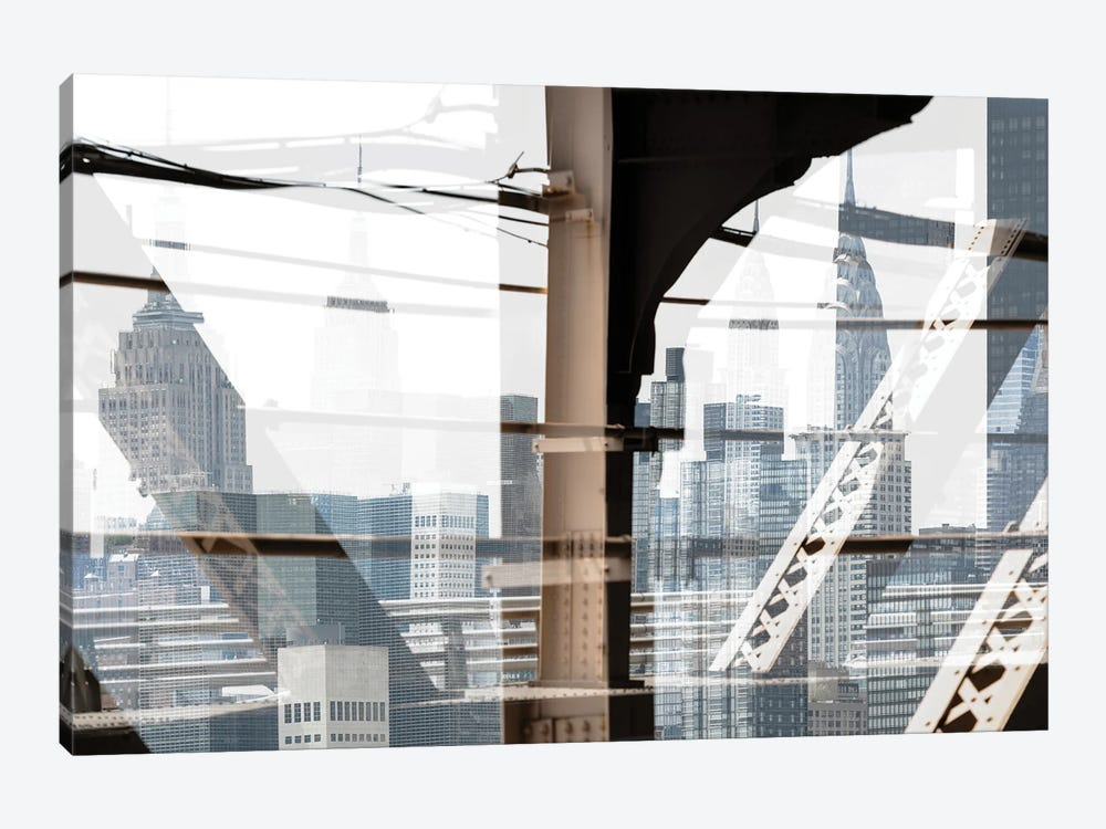 Urban Abstraction - Skyscrapers by Philippe Hugonnard 1-piece Canvas Art Print