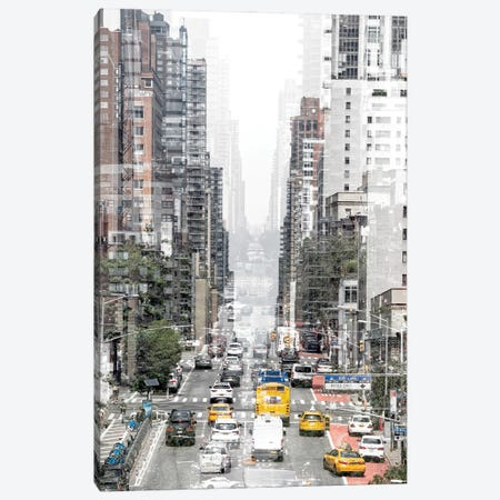 Urban Abstraction - Downtown Canvas Print #PHD1437} by Philippe Hugonnard Art Print