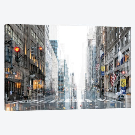 Urban Abstraction - Madison Avenue Canvas Print #PHD1438} by Philippe Hugonnard Canvas Artwork