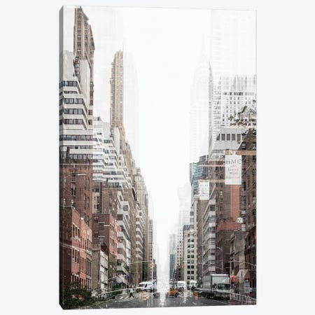 Urban Abstraction - New York City Canvas Print #PHD1439} by Philippe Hugonnard Canvas Art