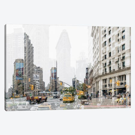 Urban Abstraction - 5th Ave Canvas Print #PHD1440} by Philippe Hugonnard Canvas Print