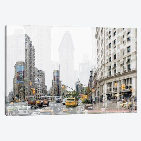 Urban Abstraction - 5th Ave Canvas Print #PHD1440} by Philippe Hugonnard Canvas Print