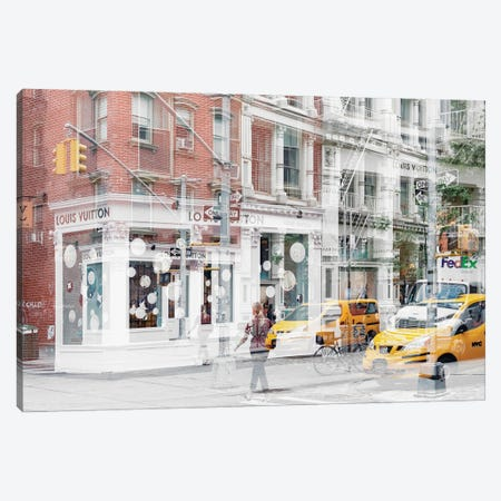 Urban Abstraction - NYC Style Canvas Print #PHD1441} by Philippe Hugonnard Art Print