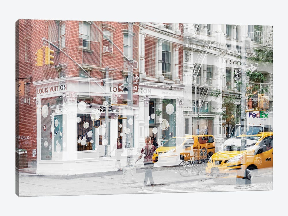 Urban Abstraction - NYC Style by Philippe Hugonnard 1-piece Canvas Artwork