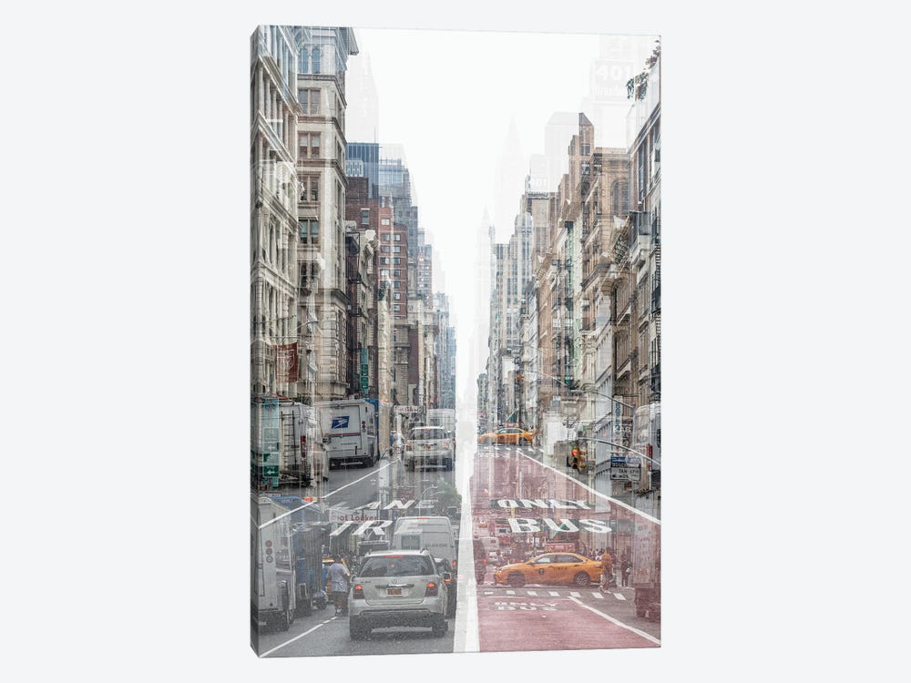 Urban Abstraction - Lane by Philippe Hugonnard 1-piece Canvas Art Print