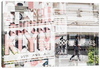 Urban Abstraction - Brooklyn Canvas Art Print