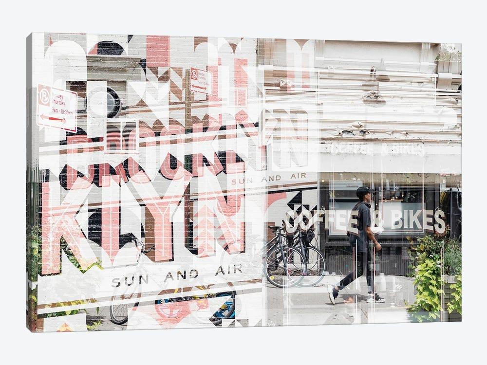 Urban Abstraction - Brooklyn by Philippe Hugonnard 1-piece Canvas Wall Art