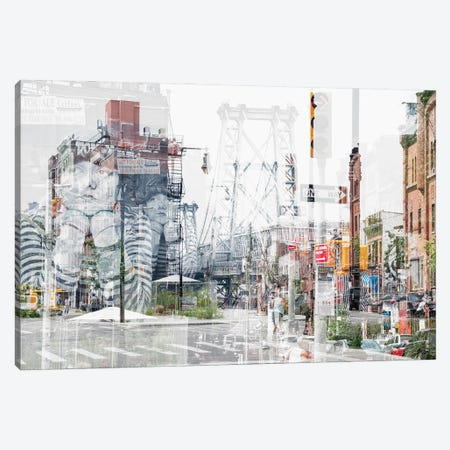 Urban Abstraction - Bedford Ave Canvas Print #PHD1444} by Philippe Hugonnard Canvas Wall Art
