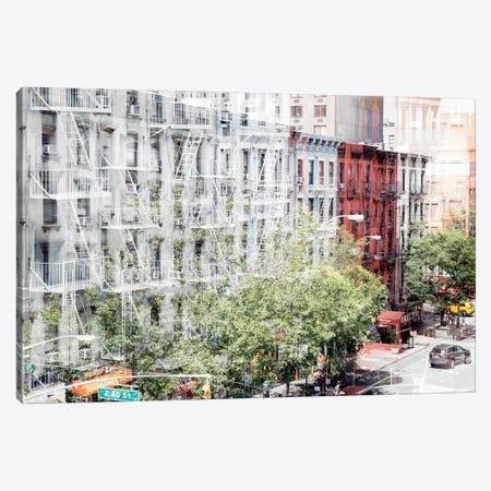 Urban Abstraction - NYC Facades Canvas Print #PHD1445} by Philippe Hugonnard Canvas Art