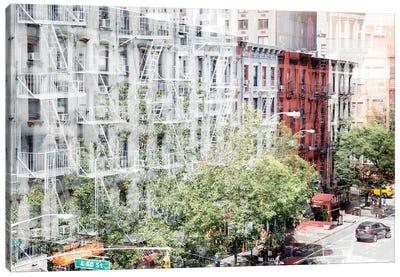 Urban Abstraction - NYC Facades Canvas Art Print