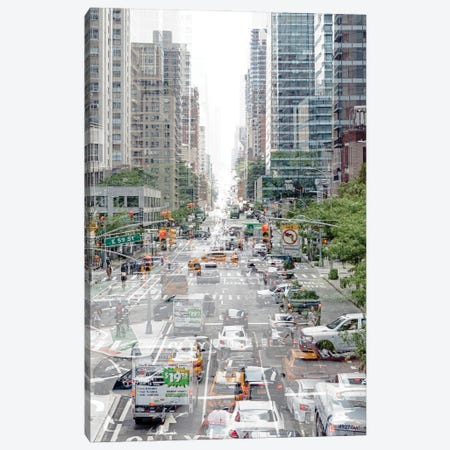 Urban Abstraction - Road Traffic Canvas Print #PHD1446} by Philippe Hugonnard Canvas Artwork