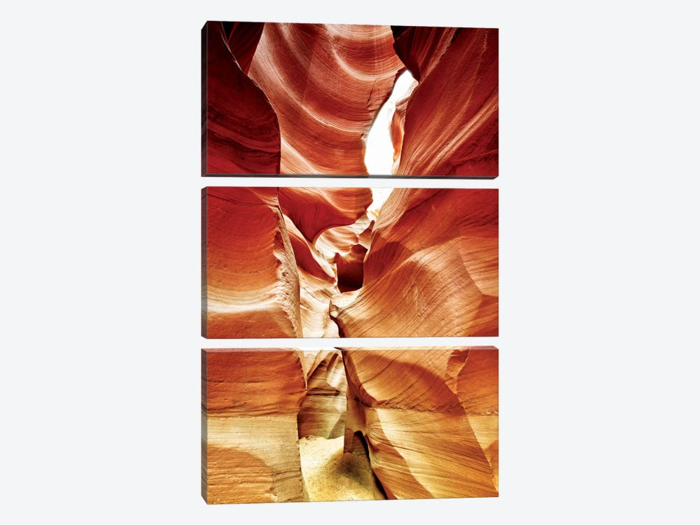 Antelope Canyon III by Philippe Hugonnard 3-piece Canvas Print