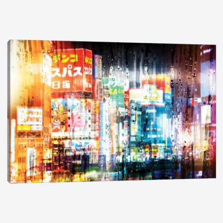 Behind The Window - Shinjuku Canvas Print #PHD1450} by Philippe Hugonnard Canvas Wall Art