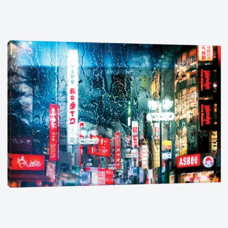 Behind The Window - Shibuya District Canvas Print #PHD1451} by Philippe Hugonnard Canvas Artwork
