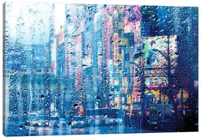 Behind The Window - Akihabara Canvas Art Print