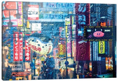 Behind The Window - Osaka Canvas Art Print