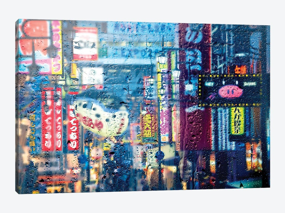 Behind The Window - Osaka by Philippe Hugonnard 1-piece Art Print