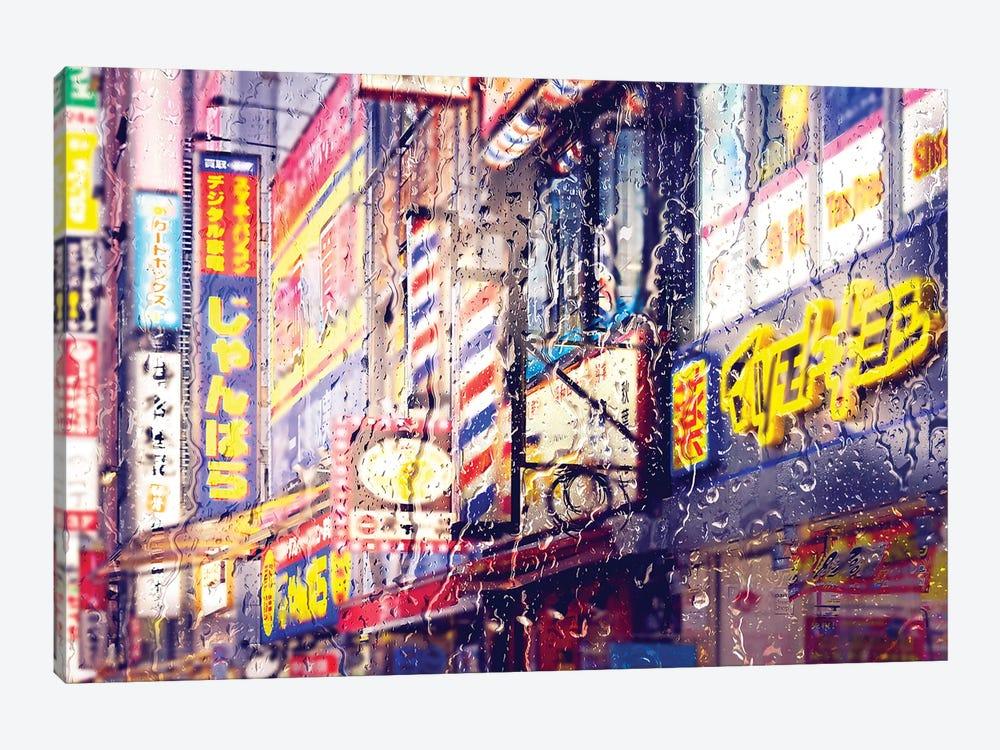 Behind The Window - Neon Lights by Philippe Hugonnard 1-piece Canvas Artwork