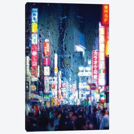 Behind The Window - Midnight Blue Canvas Print #PHD1457} by Philippe Hugonnard Art Print