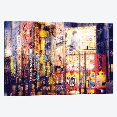 Behind The Window - Electronic District Canvas Print #PHD1458} by Philippe Hugonnard Canvas Artwork