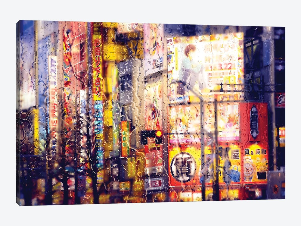 Behind The Window - Electronic District by Philippe Hugonnard 1-piece Canvas Artwork