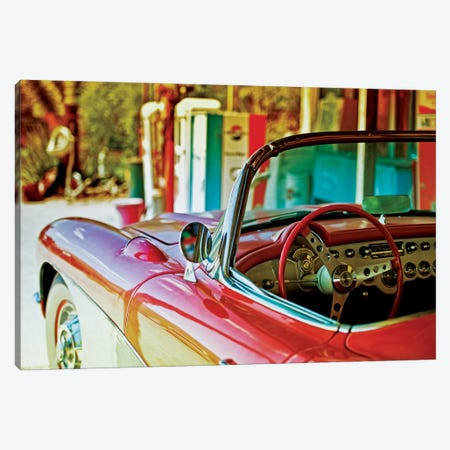 Classic Chevrolet Corvette Canvas Print #PHD145} by Philippe Hugonnard Canvas Art