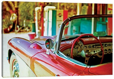 Classic Chevrolet Corvette Canvas Art Print
