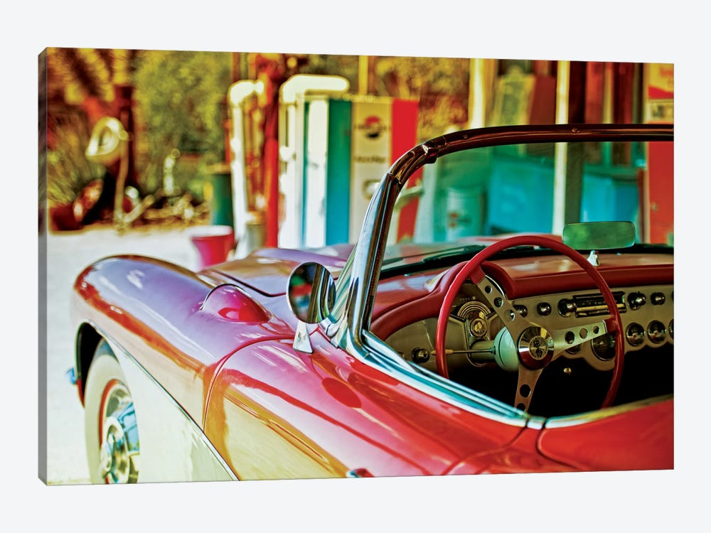 Classic Chevrolet Corvette 1-piece Canvas Artwork