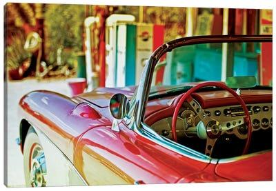 Classic Chevrolet Corvette Canvas Art Print
