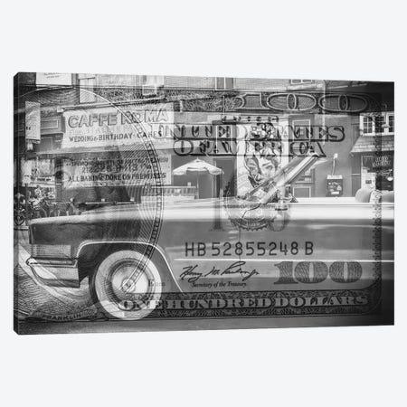 Manhattan Dollars - Cadillac Canvas Print #PHD1462} by Philippe Hugonnard Canvas Print