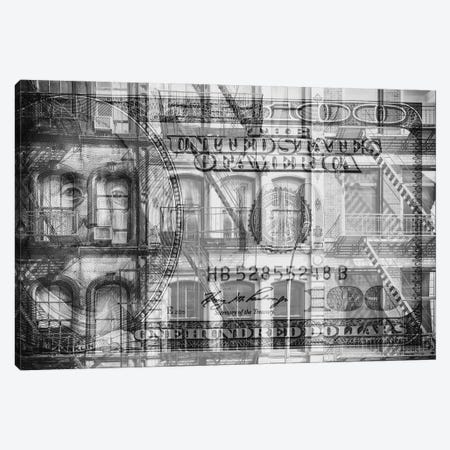 Manhattan Dollars - Soho Canvas Print #PHD1463} by Philippe Hugonnard Canvas Art Print