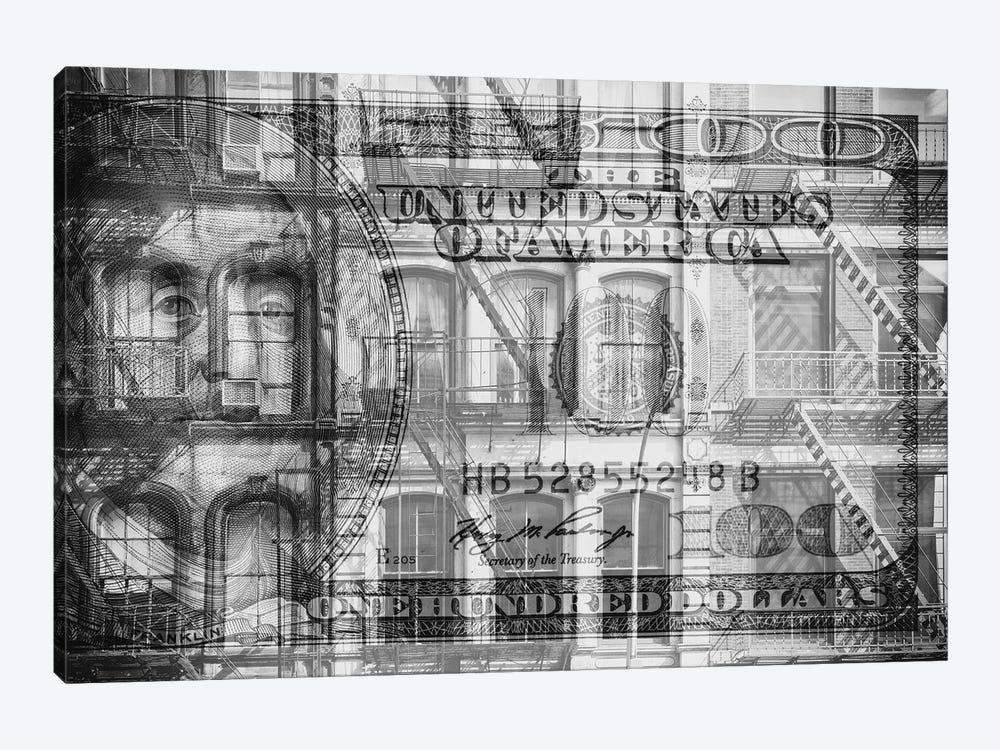 Manhattan Dollars - Soho by Philippe Hugonnard 1-piece Canvas Wall Art