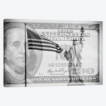 Manhattan Dollars - Liberty Canvas Print #PHD1464} by Philippe Hugonnard Canvas Artwork