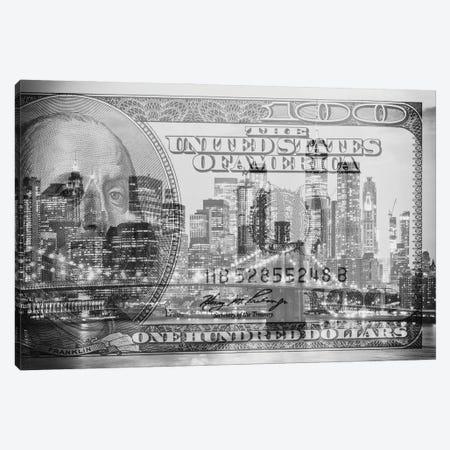 Manhattan Dollars - New York City Canvas Print #PHD1465} by Philippe Hugonnard Canvas Art