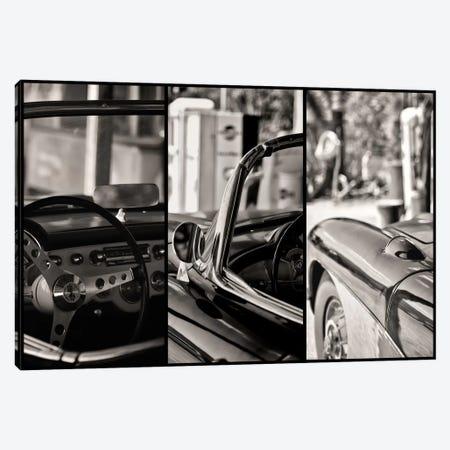 Classic Chevrolet Corvette In Detail Canvas Print #PHD147} by Philippe Hugonnard Canvas Wall Art