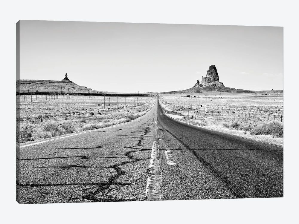 Black Arizona Series - On The Road by Philippe Hugonnard 1-piece Canvas Artwork