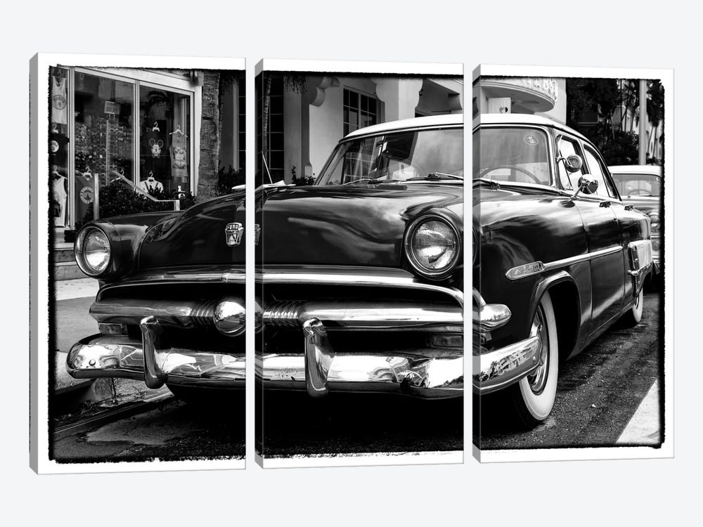 Classic Ford by Philippe Hugonnard 3-piece Canvas Art