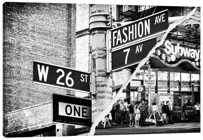 Fashion Signs Canvas Art Print