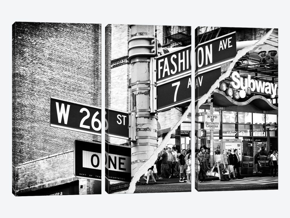 Fashion Signs by Philippe Hugonnard 3-piece Art Print
