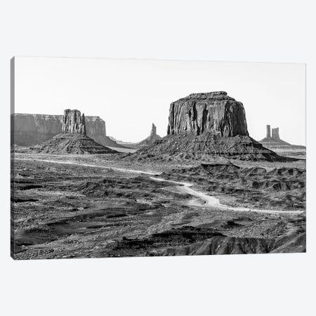 Black Arizona Series - Beautiful Monument Valley Canvas Print #PHD1507} by Philippe Hugonnard Canvas Print