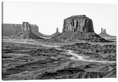 Black Arizona Series - Beautiful Monument Valley Canvas Art Print