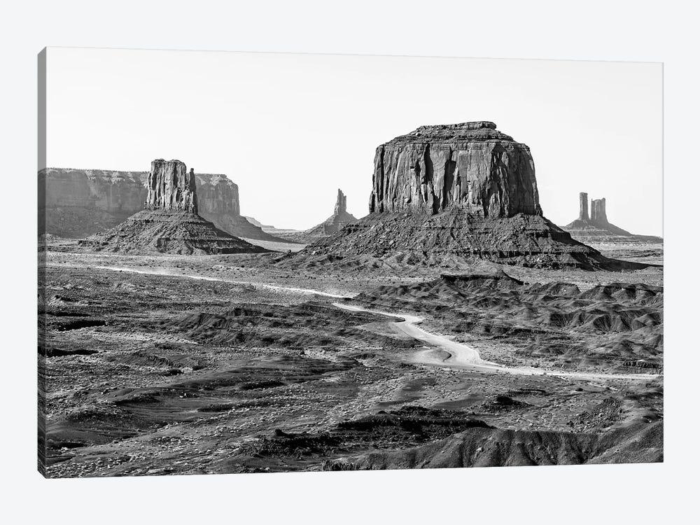 Black Arizona Series - Beautiful Monument Valley by Philippe Hugonnard 1-piece Canvas Art Print