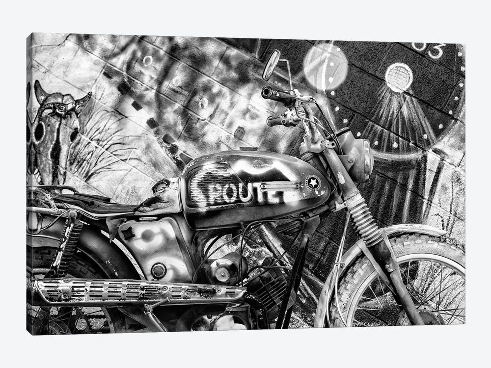 Black Arizona Series - Motorcycle Route 66 by Philippe Hugonnard 1-piece Art Print