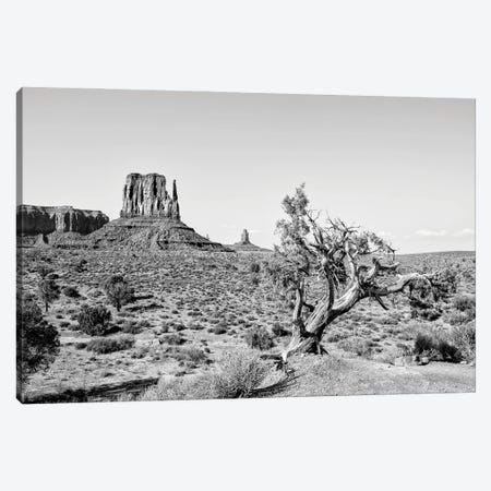 Black Arizona Series - Beautiful Nature Monument Valley Canvas Print #PHD1522} by Philippe Hugonnard Canvas Wall Art