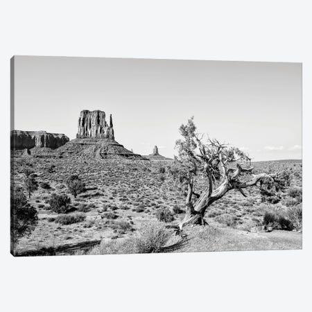Black Arizona Series - Beautiful Nature Monument Valley Canvas Print #PHD1522} by Philippe Hugonnard Canvas Wall Art