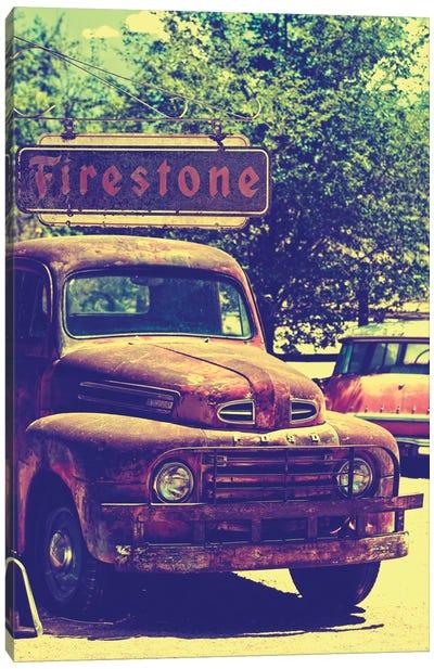 Classic Ford Truck Canvas Print #PHD152