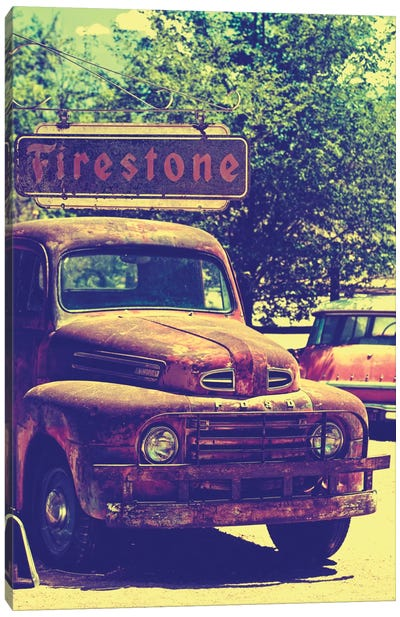 Classic Ford Truck Canvas Art Print